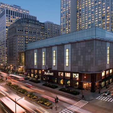 Hotel Chicago Marriott Downtown Magnificent Mile Chicago Trivago Com