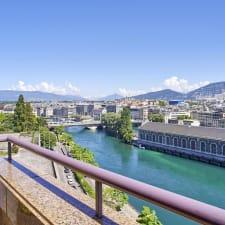 Corazón de Ginebra Centro, vista increíble con 2 terrazas - plana de 240 m2