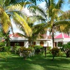 Villa In Own Grounds Owners Richard Kooseenlin & Visheen Moonoosammy.