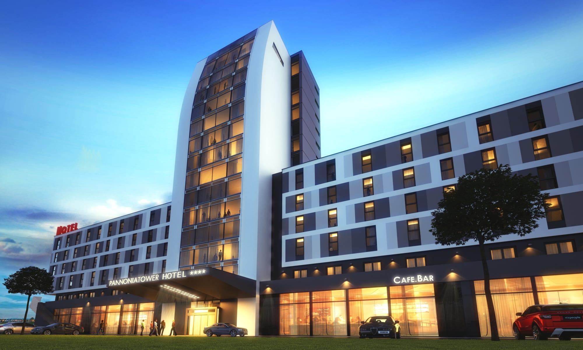 Hotel Pannonia Tower Hotel Parndorf Parndorf Trivago Com