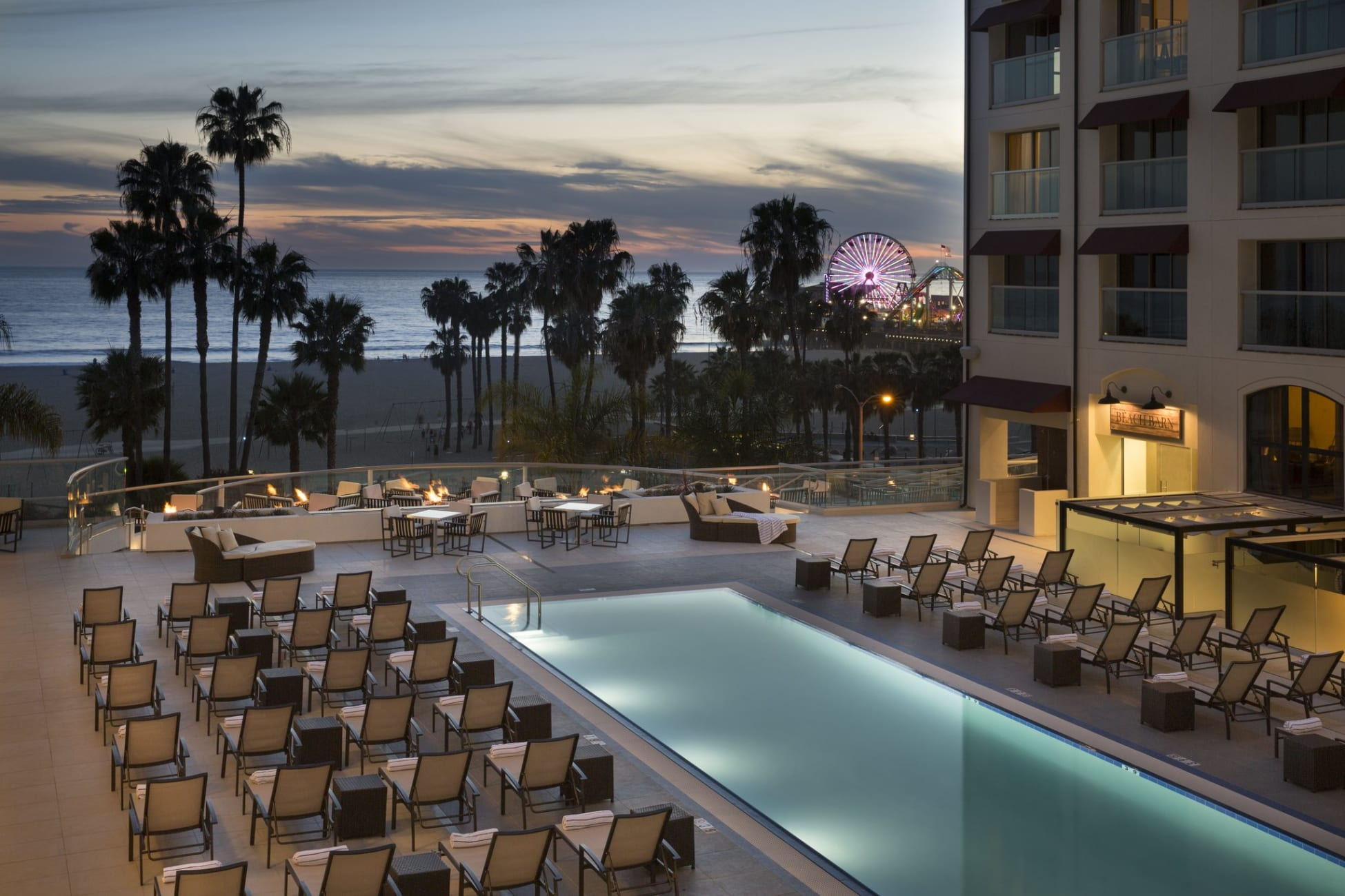 Hotel Loews Santa Monica Beach