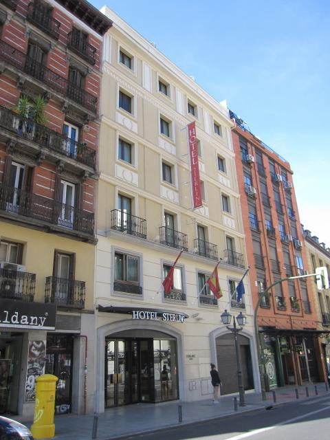 Hotel exe central madrid cool breakfast area with hotel exe central madrid fabulous jc rooms - Exe central madrid ...